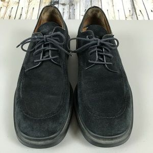 Johnston & Murphy Suede Lace Up Shoes Size 8M